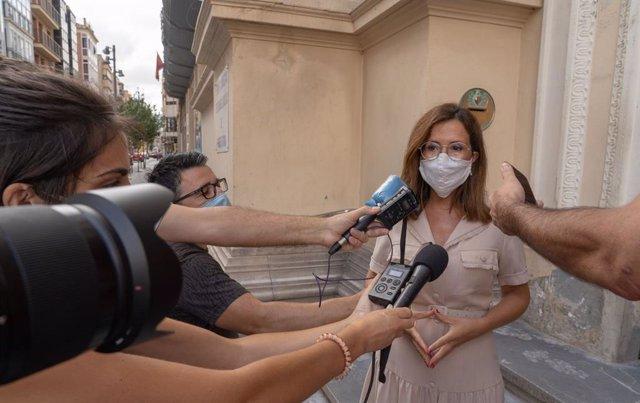 Declaraciones de la alcaldesa de Cartagena, Ana Belén Castejón, sobre la fuga de inmigrantes