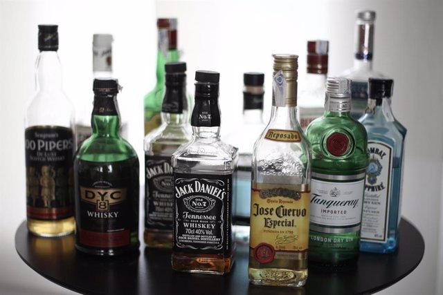 Recursos d'alcohol, ampolles, beguda