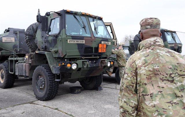 EEUU.- EEUU anuncia la retirada de unos 12.000 militares de Alemania para reubic