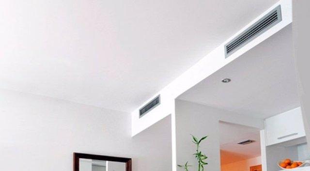 Aire acondicionado en una vivienda