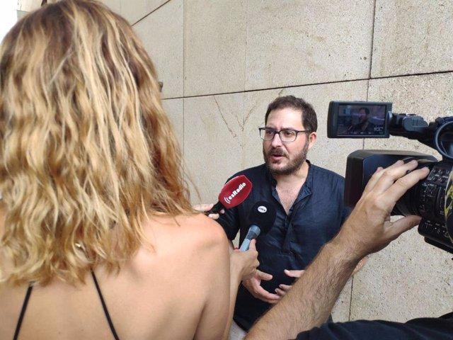 El parlamentario andaluz Diego Crespo (Adelante Andalucía)