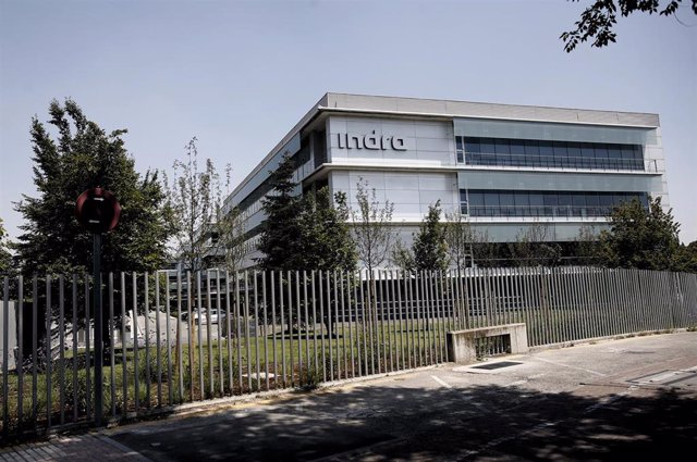 Sede de la compañía de tecnología y defensa Indra en Alcobendas.