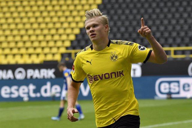 """Fútbol.- El noruego Haaland cree que el Borussia Dortmund tiene """"la calidad"""" par"""