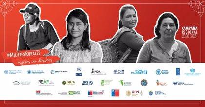 Una veintena de entidades lanzan la campaña '#MujeresRurales, mujeres con derechos' de la FM BBVA y la FAO