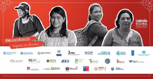 Cvirus.- Una veintena de entidades lanzan la campaña '#MujeresRurales, mujeres c