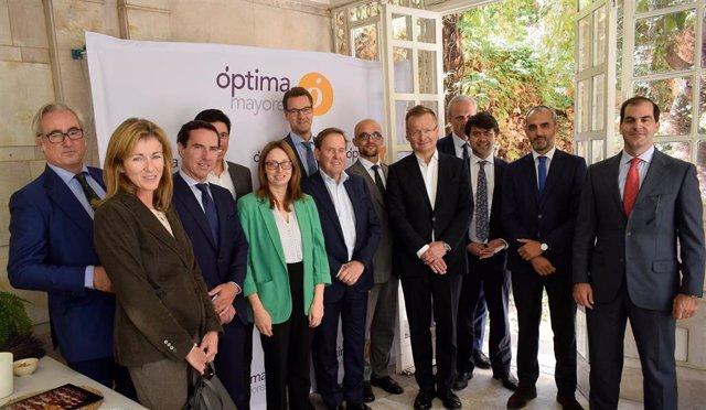 Representantes de la EPPARG reunidos en Madrid.