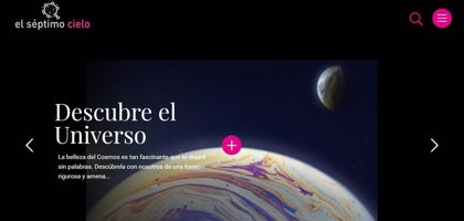 La Fundación Descubre estrena la web 'El Séptimo Cielo' sobre divulgación de la astronomía