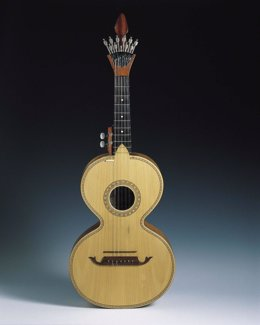 Instrumento de la exposición 'Sonidos vecinos'.