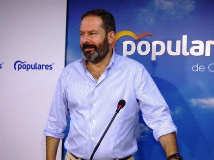 """Molina (PP) valora el """"empuje"""" que demuestra el Gobierno de Juanma Moreno con la red secundaria de La Colada"""