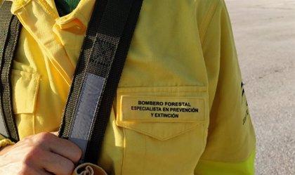 Extinguido el incendio de Tolox (Málaga) tras afectar a 3.500 metros cuadrados de pasto