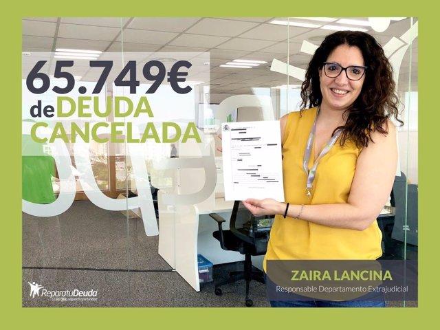Zaira Lancina, Responsable del departamento Extrajudicial