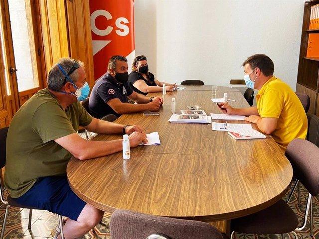 Reunión con la Asociación Provincial de Feriantes