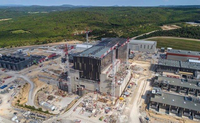 Imagen de mayo de 2020 del complejo que albergará el reactor ITER