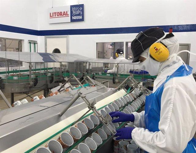 Suiza.- Nestlé incrementa un 18,3% sus ganancias en el primer semestre, hasta 5.