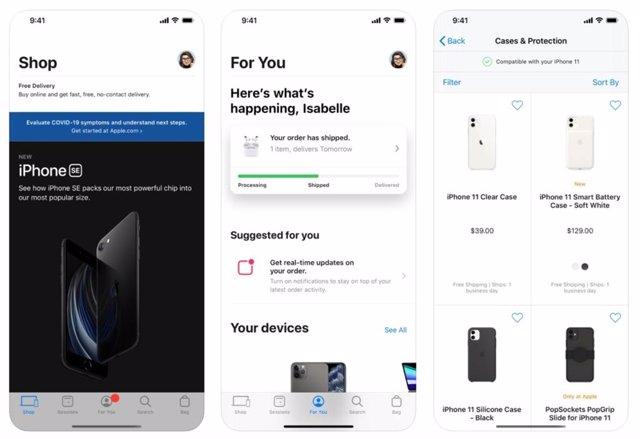 App de la Apple Store para iOS e iPadOS