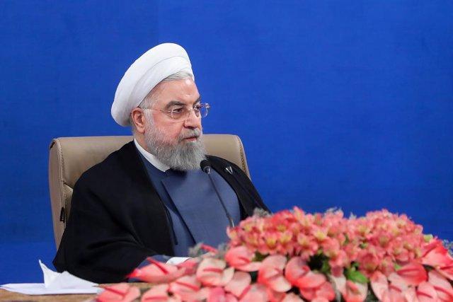 """Coronavirus.- Rohani dice que Irán está dejando atrás el """"pico"""" de contagios tra"""