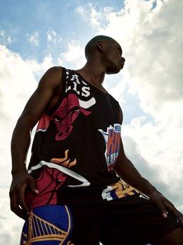Berskha (Inditex) se alía con la NBA para lanzar una colección