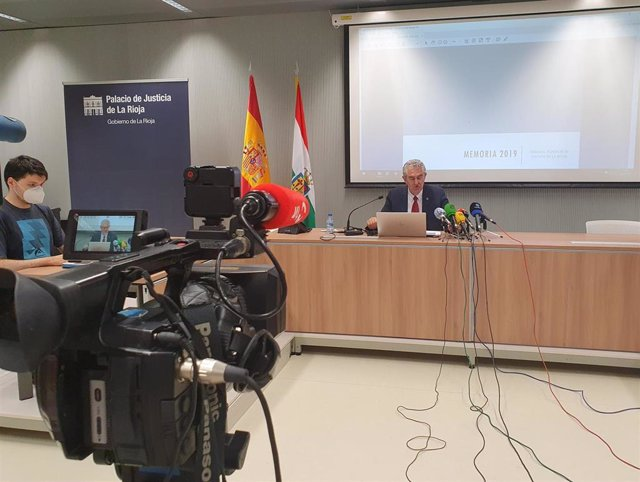 El presidente del TSJ, Javier Marca, ha presentado la memoria judicial