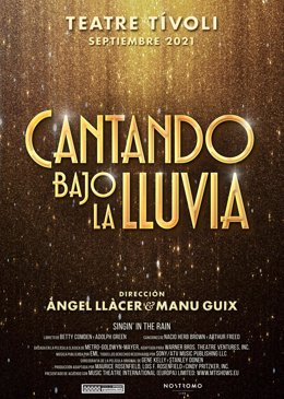 Àngel Llàcer y Manu Guix crearán el musical 'Cantando Bajo la Lluvia' con estreno en 2021
