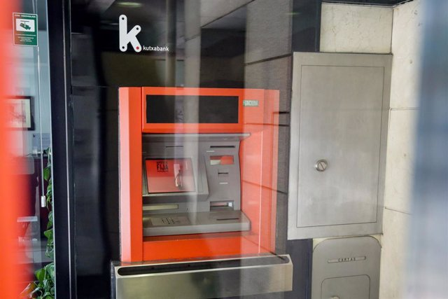 Un cajero de un Banco Kutxabank.