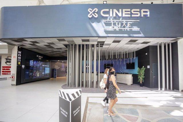 Complex de la companyia Cinesa (Arxiu)