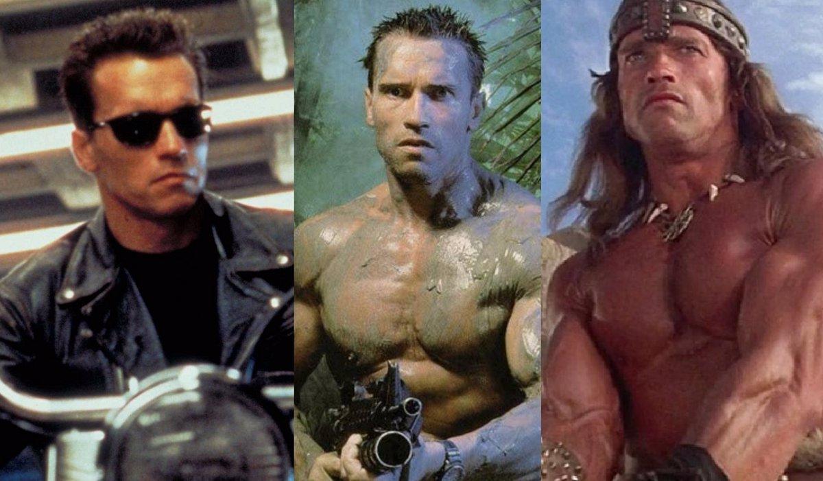 Arnold Schwarzenegger 10 Personajes Que Le Convirtieron En El Gran Héroe De Acción