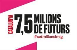 L'exposició 'Catalunya: 7,5 milions de futurs' viatjarà a l'Espai Catalunya Europa de Bèlgica