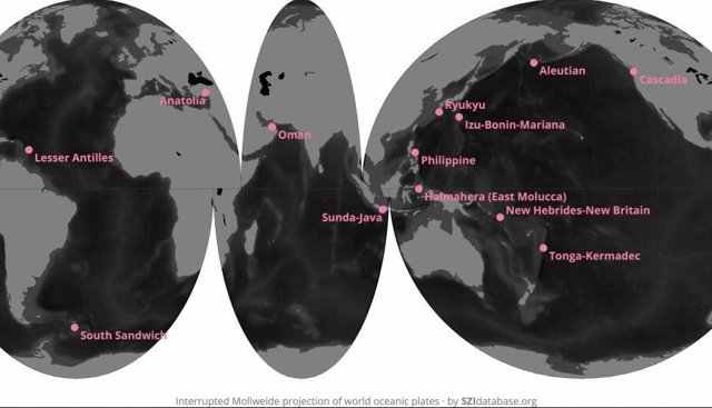 Placas osceánicas