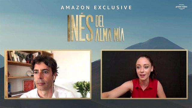 Entrevista con Elena Rivera y Eduardo Noriega, protagonistas de Inés del alma mía, la nueva serie de Amazon Prime Video
