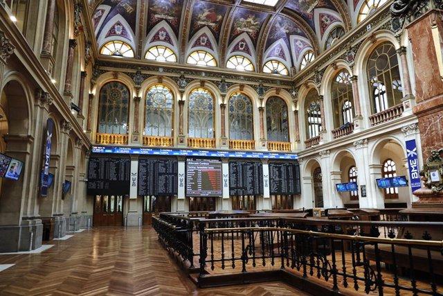 Interior del Palacio de la Bolsa