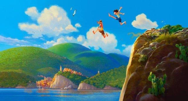 Pixar anuncia nueva película, Luca, una historia de aventuras en la Riviera italiana