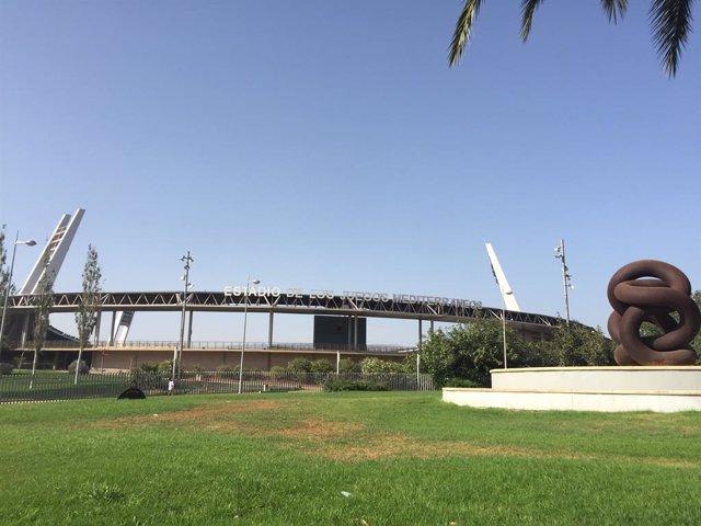 Fútbol.- La UD Almería reanuda los entrenamientos tras el negativo de la plantil