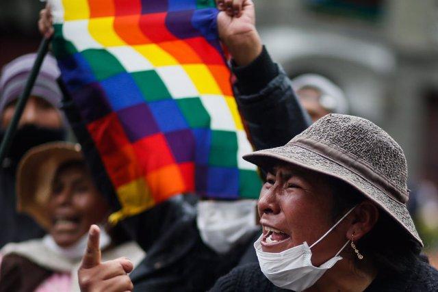 Bolivia.- Los sectores afines al MAS mantienen las movilizaciones en Bolivia aun