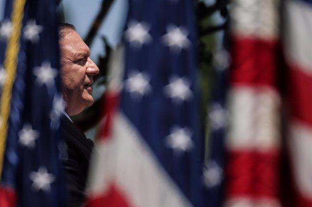El secretari d'estat dels Estats Units, Mike Pompeo.