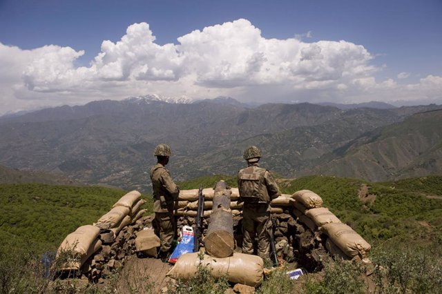 Soldats del Pakistan a la vall del Swat