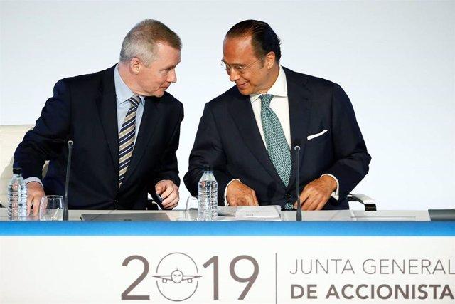 Junta de accionistas de IAG de 2019