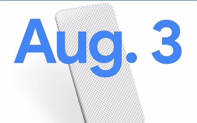 Google presentará su nuevo teléfono Pixel el 3 de agosto
