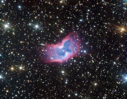 Una impresionante mariposa espacial captada por el telescopio VLT