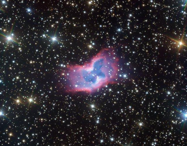 Nueva imagen obtenida por el VLT de ESO de la nebulosa planetaria NGC 2899