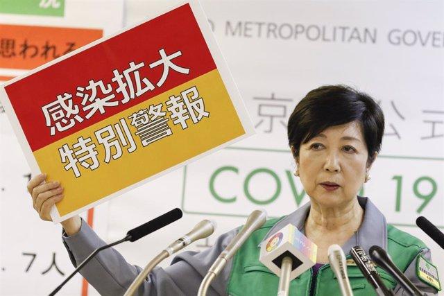 Coronavirus.- Tokio se plantea abiertamente un nuevo estado de emergencia tras c