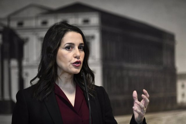 La presidenta de Ciudadanos, Inés Arrimadas.
