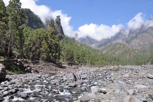 Parque Nacional de la Caldera de Taburiente, en La Palma