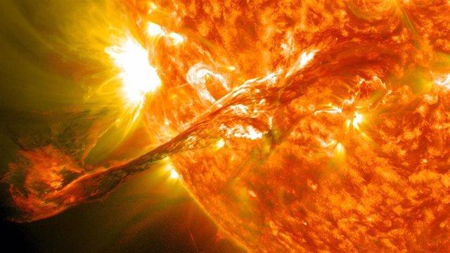 Eyección de masa coronal solar