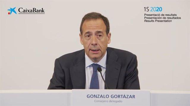 El conseller delegat de CaixaBank, Gonzalo Gortázar