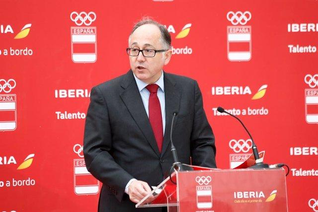 Luis Gallego, presidente de Iberia y futuro CEO de IAG