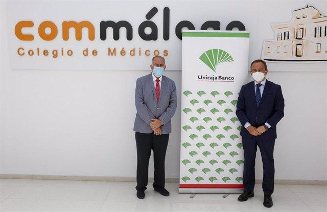 Renovación del acuerdo entre Unicaja Banco y Colegio de Médicos de Málaga