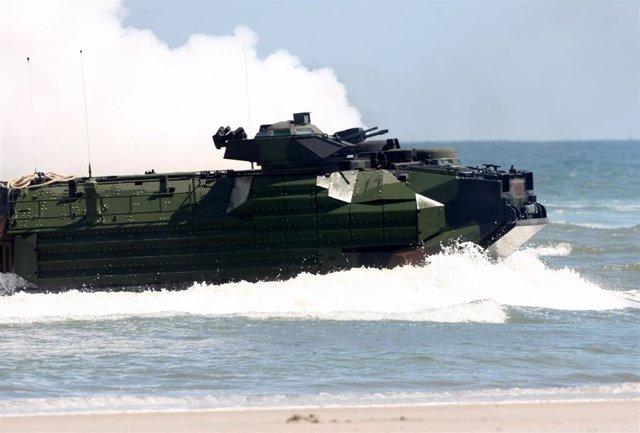 Vehículo de asalto anfibio del cuerpo de Marines