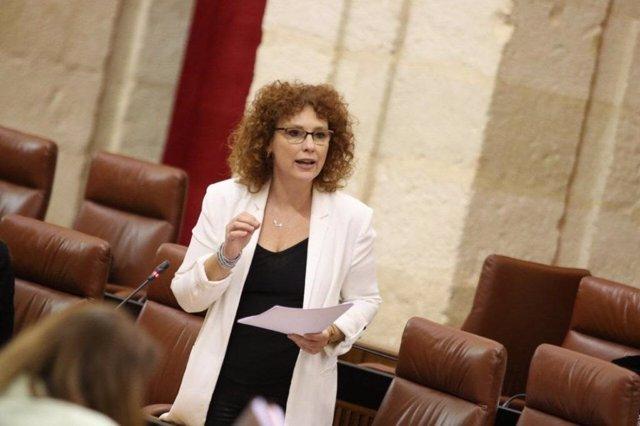 La parlamentaria andaluza de Ciudadanos (Cs) y portavoz de la Comisión de Educación, Mar Sánchez, en una foto de archivo