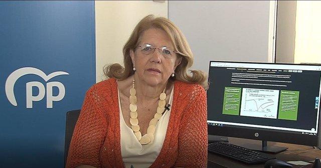 La vicesecretaria de Política Sectorial del PP, Elvira Rodríguez.