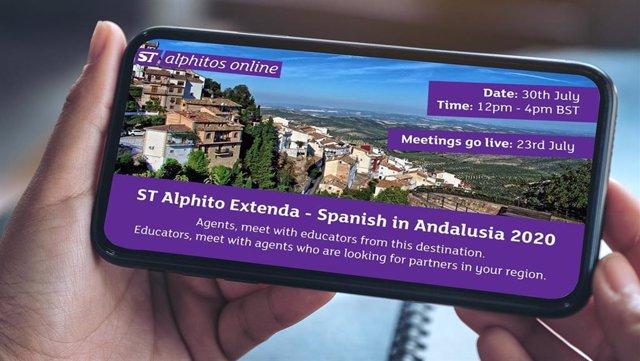 Foto Y Nota De Prensa: Andalucía Se Posiciona Con Extenda Como Destino Para Los Alumnos De Español Como Lengua Extranjera, Gracias Al Evento Digital Alphitos Online Focus